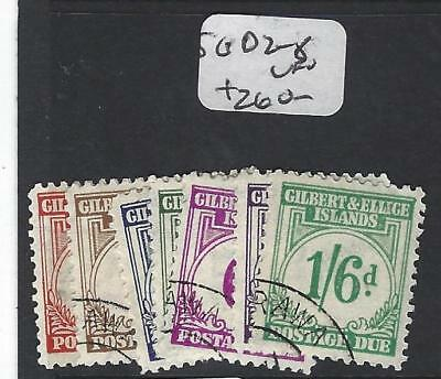 Gilbert And Ellice Islands (P1804B) Postage Due Sg D2-8   Vfu
