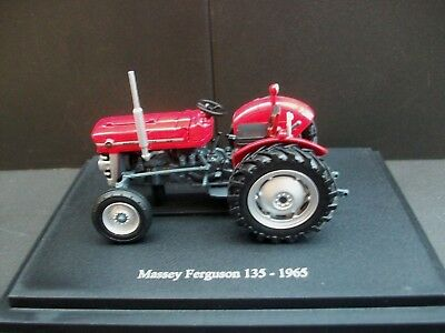 Mib Very Collectible U/h 1965 Massey Ferguson 135 Agricultural Tractor/ Red 1:43