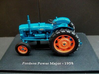 *mib* Very Collectible U/h 1958 Fordson Power Major Agricultural Tractor Sc.1:43