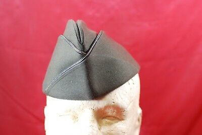 1944 Dated Army Officer Forest Green Overseas Cap - #m10532