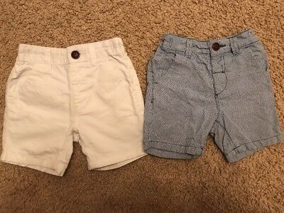 Next Baby Boys Shorts Age 18-24 Months Excellent Condition