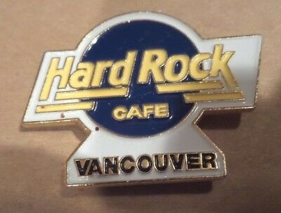 Hard Rock Cafe Pin  Vancouver