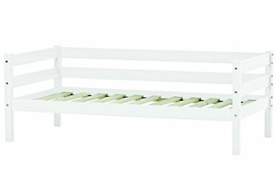 Solid Pinewood Ida 30-0006-32-07m Toddler/children s/infant/junior Bed, Wood, Wh