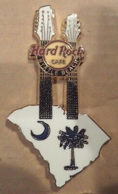Hard Rock Cafe Pin  Myrtle Beach Double Guitar Pin