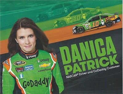 CD/_1267 #10 Danica Patrick Go Daddy 2012 Sprint Cup Chevy  1:87 Decals