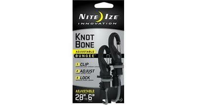 "Nite Ize KIBB5-03-01 KnotBone Bungee #5 Size Adjustable from 28""-6"""