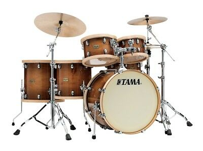 Tama SLP Studio Maple Shell Set - LMP52RTLS - Gloss Sienna