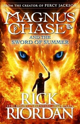The Magnus Chase series: Magnus Chase and the sword of summer by Rick Riordan