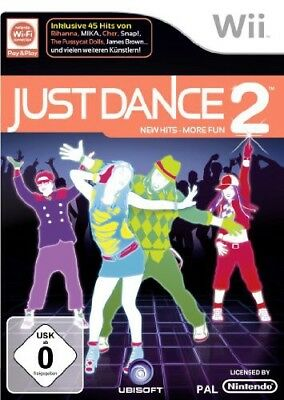 Nintendo Wii game - Just Dance 2 UK boxed