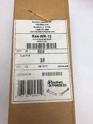 New Southern Imperial 12 Clip Scanning Wand Retailer Box 25 QTY   R44-SWR-12