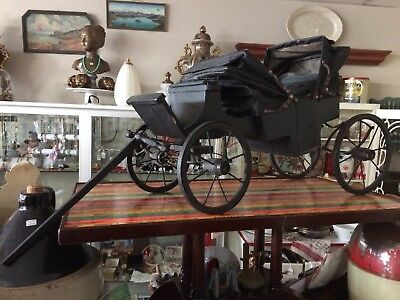 Antique/Vintage Handmade Carriage - One Of A Kind - Early Piece of History