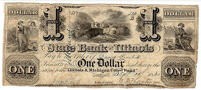 Illinois - State Bank of Illinois - $1.00 - 1840