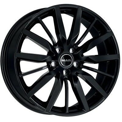 JANTES ROUES MAK BARBURY MERCEDES CLA SHOOTING BRAKE 8x19 5x112 GLOSS BLACK 74D