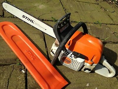 "STIHL MS391 CHAINSAW 64cc 3.3KW 20"" Bar commercial, New STHIL Chain STHL STILL"