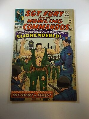 Sgt. Fury and His Howling Commandos #30 VG/FN condition