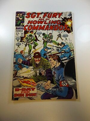 Sgt. Fury and His Howling Commandos #59 FN- condition