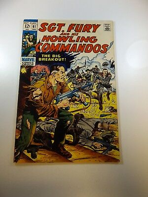 Sgt. Fury and His Howling Commandos #61 FN condition