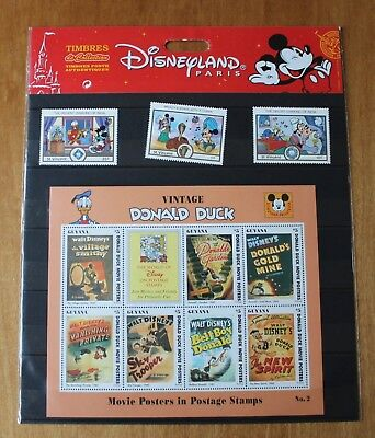 Disney Limited Edition Collectable Stamps VINTAGE DONALD DUCK EXCELLENT L@@K