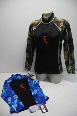 Lot of 10 Hammerhead Spearguns Wetsuit Tops (Ambush Freediving Rash Guard)
