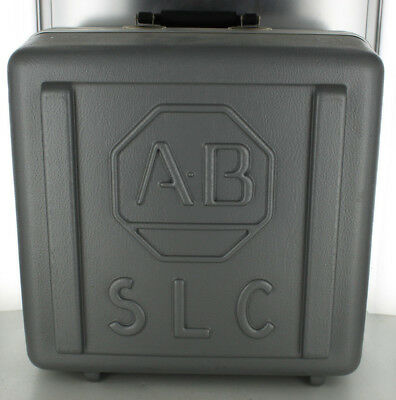 ALLEN BRADLEY AB SLC DEMO-7 SLC-500 DEMO UNIT HARD CARRYING CASE w/ SWITCHES
