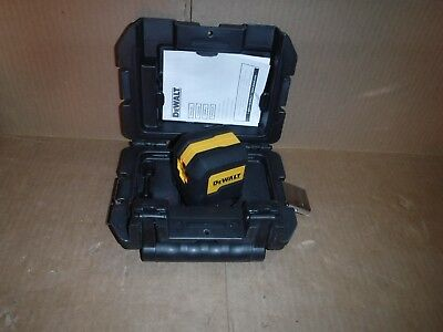 DEWALT 50 ft. Cross Line Laser Level DW08801 in Case