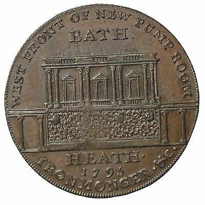 1794 Great Britain Somerset Bath Halfpenny Conder Token D&H-40