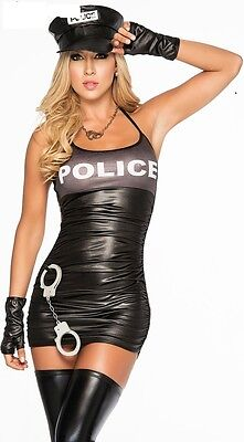sexy women Police Cop costume outfits officer lady adult bedroom lingerie dress