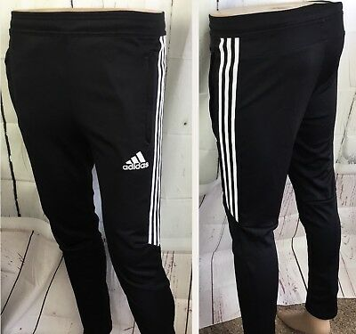 Adidas Tiro Pants Training Sweatpants Soccer Joggers Sweat Black White Youth L