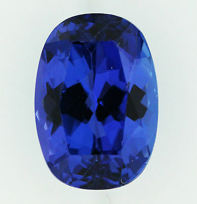 2.72ct!! NATURAL TANZANITE EXPERTLY FACETED IN GERMANY UNTREATED +CERTIFICATE