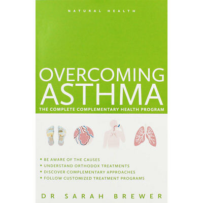 Overcoming Asthma by Dr Sarah Brewer (Paperback), New Arrivals, Brand New