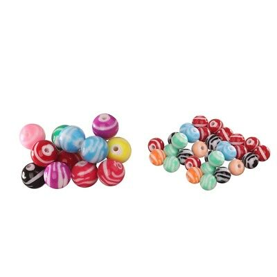 12mm/16mm  Multi Color Acrylic Round Loose Beads for Bracelet Jewelry Making
