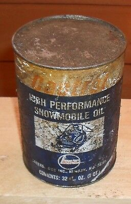 Castrol High Performance Snowmobile Oil One Quart Can - Full Un-Open Can