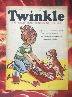 Twinkle  Comic No. 292. 25 August 1973. Dress Twinkle Page. Puzzles Not Done