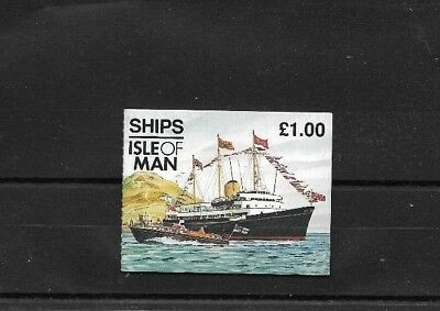ISLE of MAN 1997 Royal Yacht £1 Stamp Booklet - SB 45
