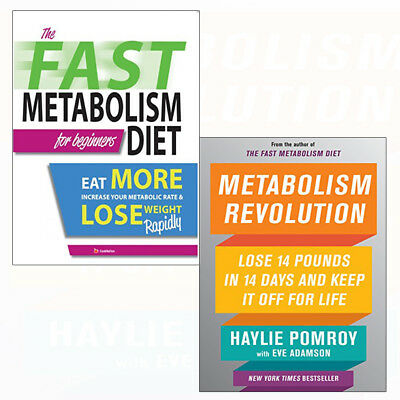 Metabolism Revolution Recipes Haylie Pomroy Lose Weight 2 Books Collection Set