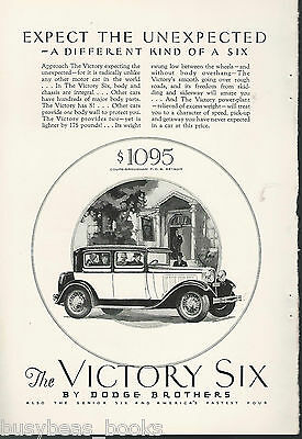 1928 Dodge Brothers advertisement, DODGE Victory Six coupe
