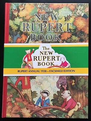 RUPERT FACSIMILE ANNUAL 1938 V FINE LIMITED EDITION with band No 01004