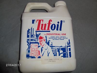 1 Quart of Tufoil Industrial Use Oil by Fluoramics Inc.