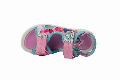 Girls Shimmer and Shine Pink Sports Beach Sandals Shoe Hook & Loop Sizes UK 5-10
