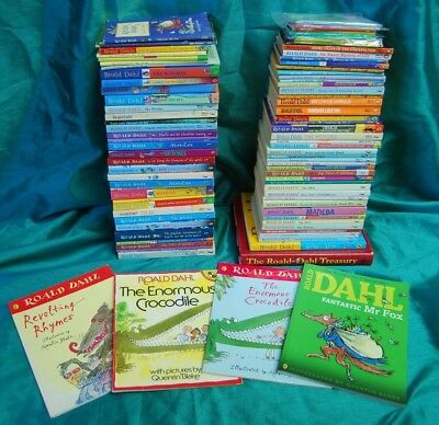 Job Lot Roald Dahl Books Old & New Editions - BFG, The Twits etc (Hospiscare)