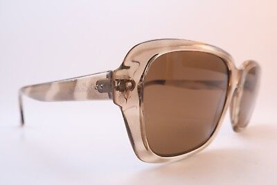 Vintage 60s Echteria sunglasses clear brown original glass lens West Germany