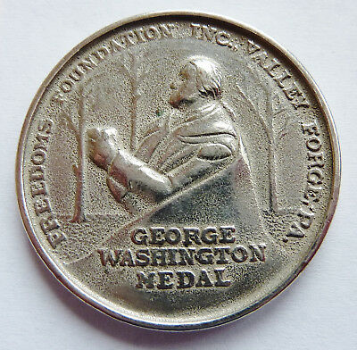 1952 Boy Scouts ~ George Washington ~ Freedom Foundation ~ Valley Forge ~ Medal