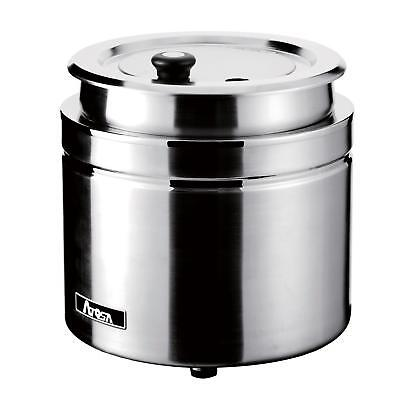 Atosa AT51388 MixRite 10 Liter Stainless Steel Soup Kettle
