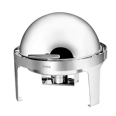 Atosa AT51363 MixRite 5 qt Stainless Steel Economy Round Chafing Dish