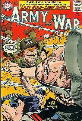 OUR ARMY AT WAR #152 (1965) DC Comics 4th all Sgt. Rock issue FINE+
