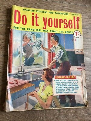 Vintage do it yourself magazine 20 copies from 1959 1961 099 do it yourself magazine february 1959 vintage magazine solutioingenieria Image collections