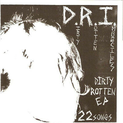 D.R.I. - Dirty Rotten EP COLORED VINYL ACCÜSED S.O.D. WEHRMACHT