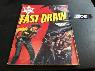 """""""Wild West Picture Library"""" Comic # 26. """"Fast Draw"""".Cowboy. Western"""