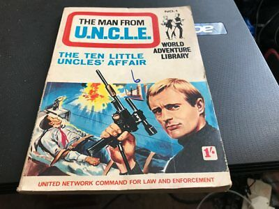 World Adventure Library--The Man From U.n.c.l.e---No 1--Comic