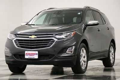 Chevrolet Equinox Premier AWD Heated Cooled Leather Camera Nightfall 2018 Premier AWD Heated Cooled Leather Camera Nightfall Used Turbo 1.5L I4 16V